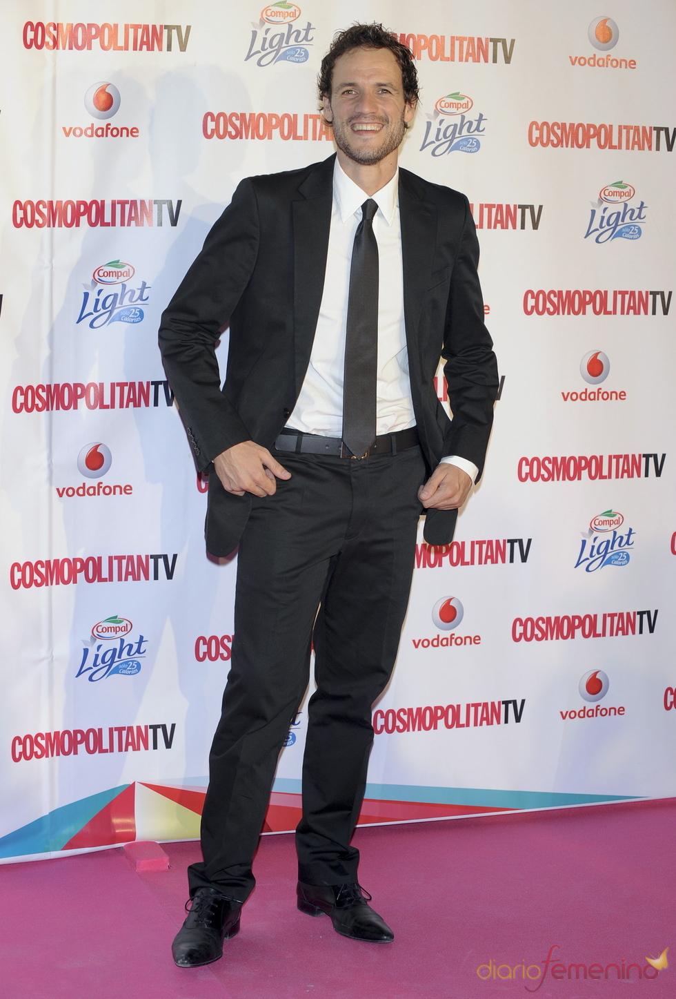 Daniel Grao en los Premios Cosmopolitan TV