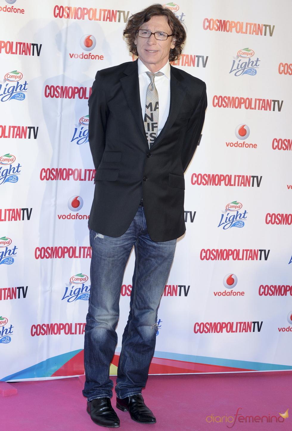 Nacho Duato en los Premios Cosmopolitan TV
