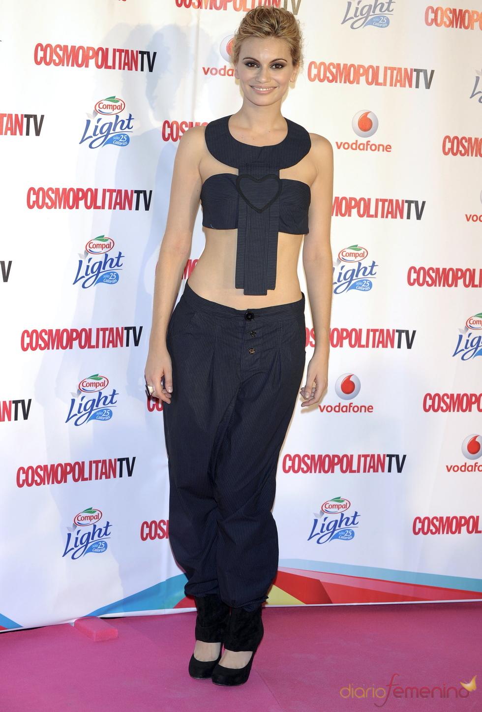 Norma Ruiz en los Premios Cosmopolitan TV
