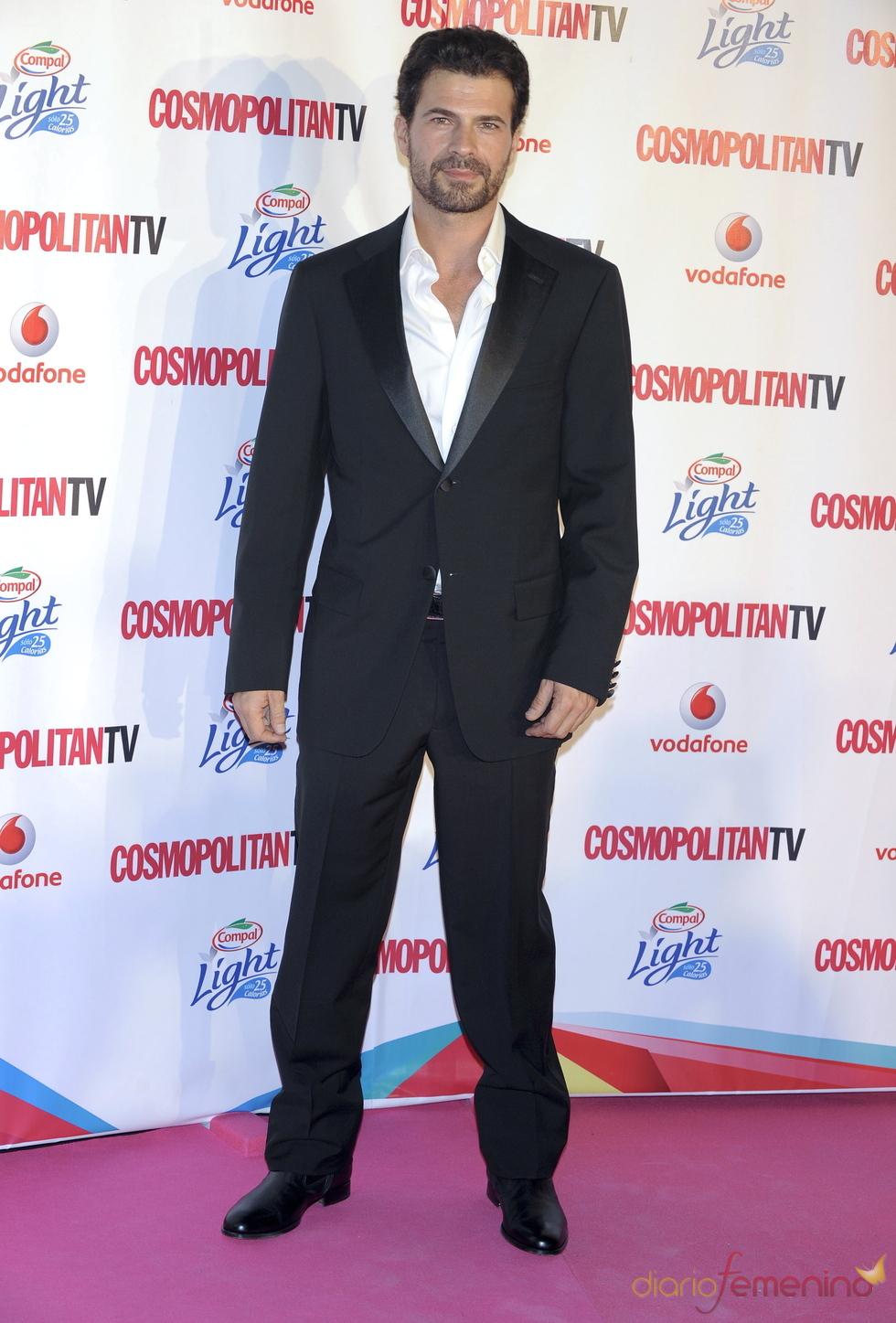 Rodolfo Sancho en los Premios Cosmopolitan TV