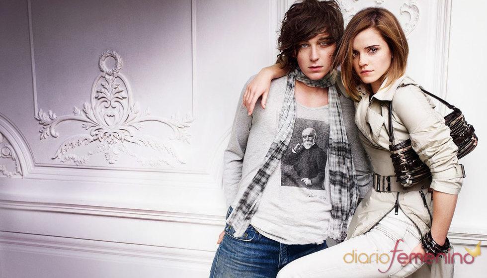 Emma Watson y el modelo George Craig