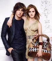 Emma Watson y su novio George Craig