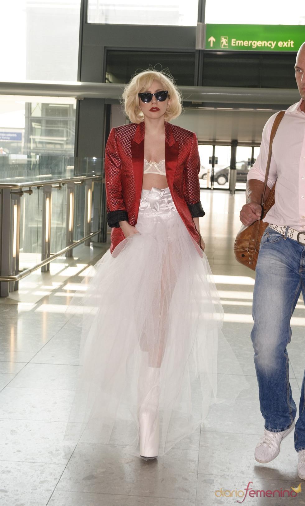 Lady Gaga con tutú