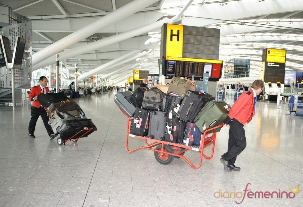 El equipaje de Lady Gaga
