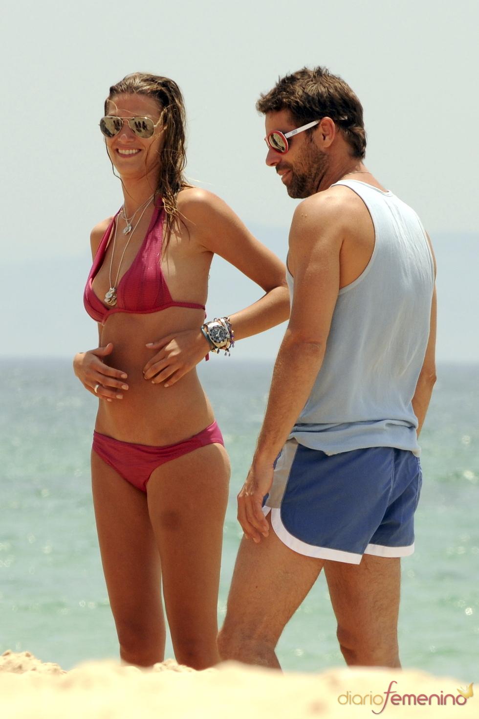 Laura Sánchez y David Ascanio en Cádiz