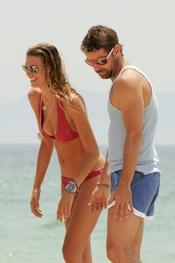 Laura Sánchez y David Ascanio de vacaciones