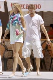 Laura Sánchez y David Ascanio descansan en Cádiz