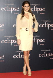 Ashley Greene presenta 'Eclipse' en Madrid