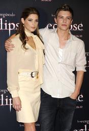 Ashley Greene y Xavier Samuel promocionan 'Eclipse' en Madrid