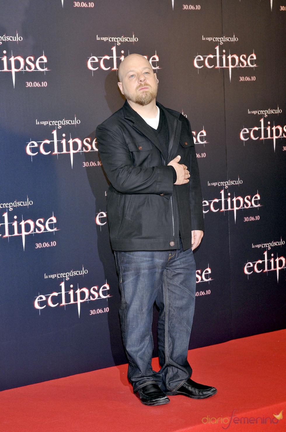 David Slade, el director de 'Eclipse', en Madrid