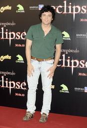 Adam Jezierski en la premiere de 'Eclipse' en Madrid