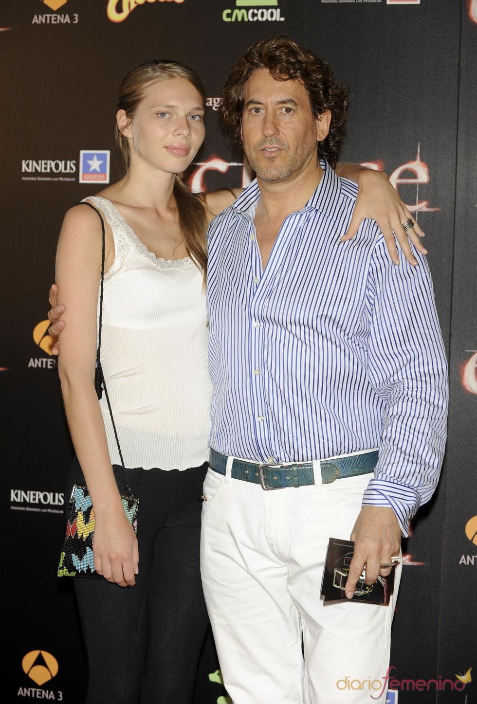 Álvaro de Marichalar y Ekaterina en el estreno de 'Eclipse'