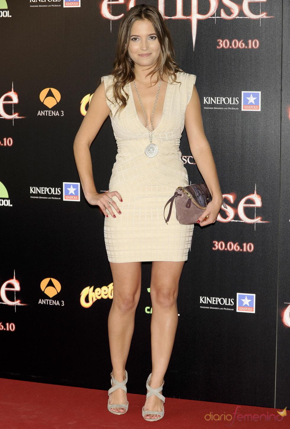 Ana Fernández en la premiere de 'Eclipse' en Madrid