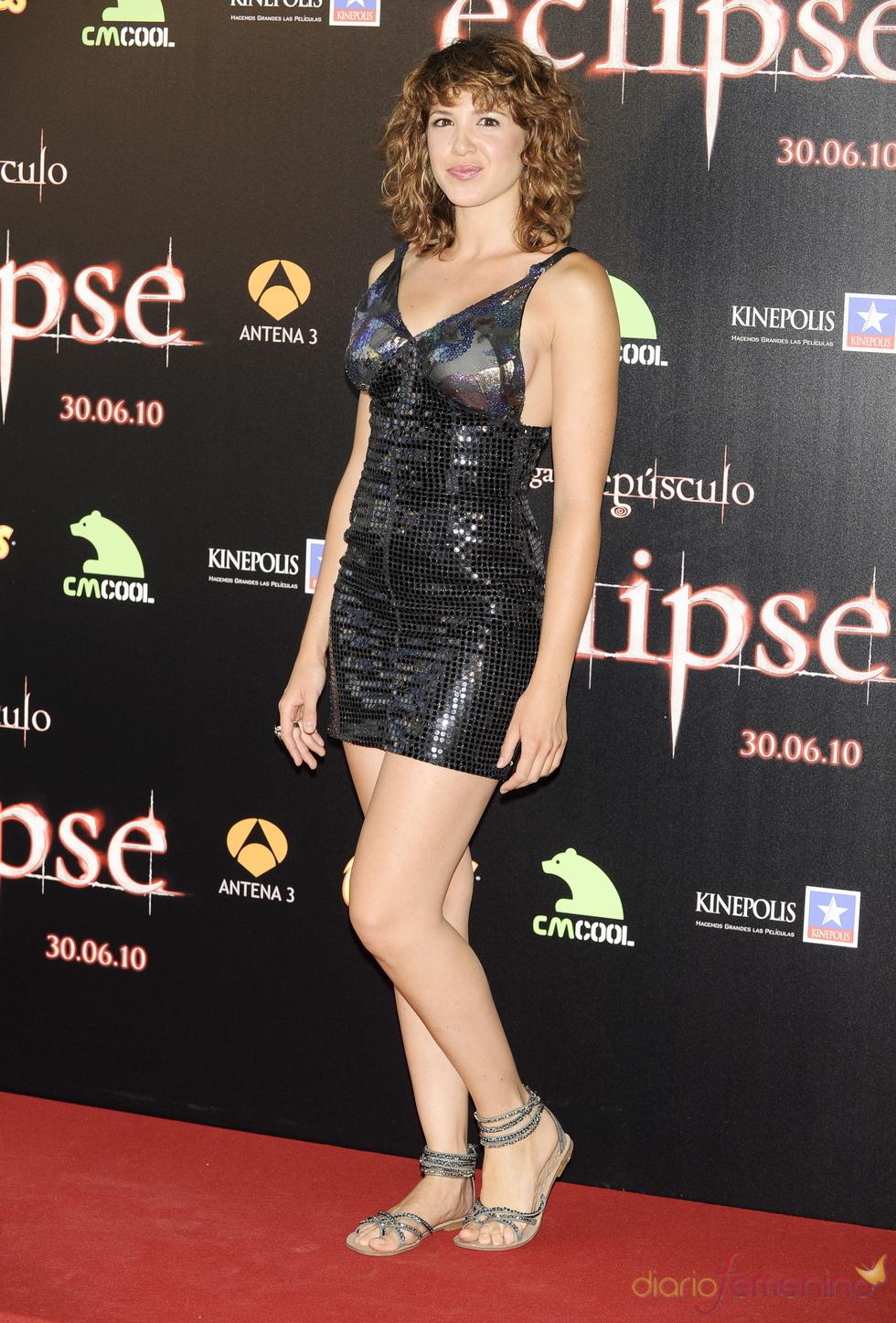 Daniela Costa en el estreno de 'Eclipse'