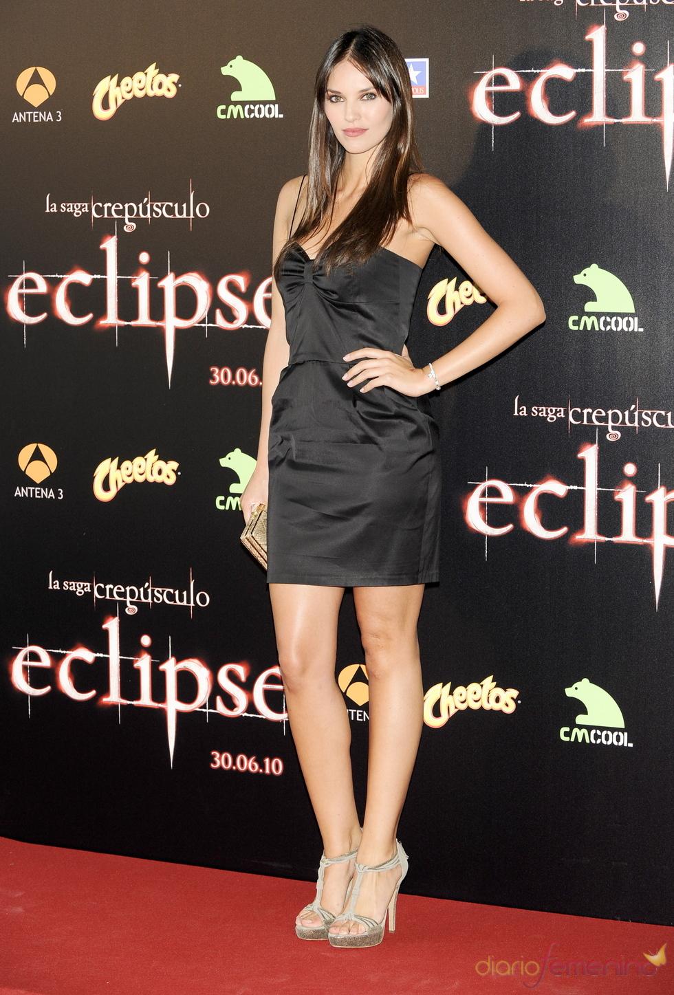 Helen Lindes en la premiere de 'Eclipse' en Madrid
