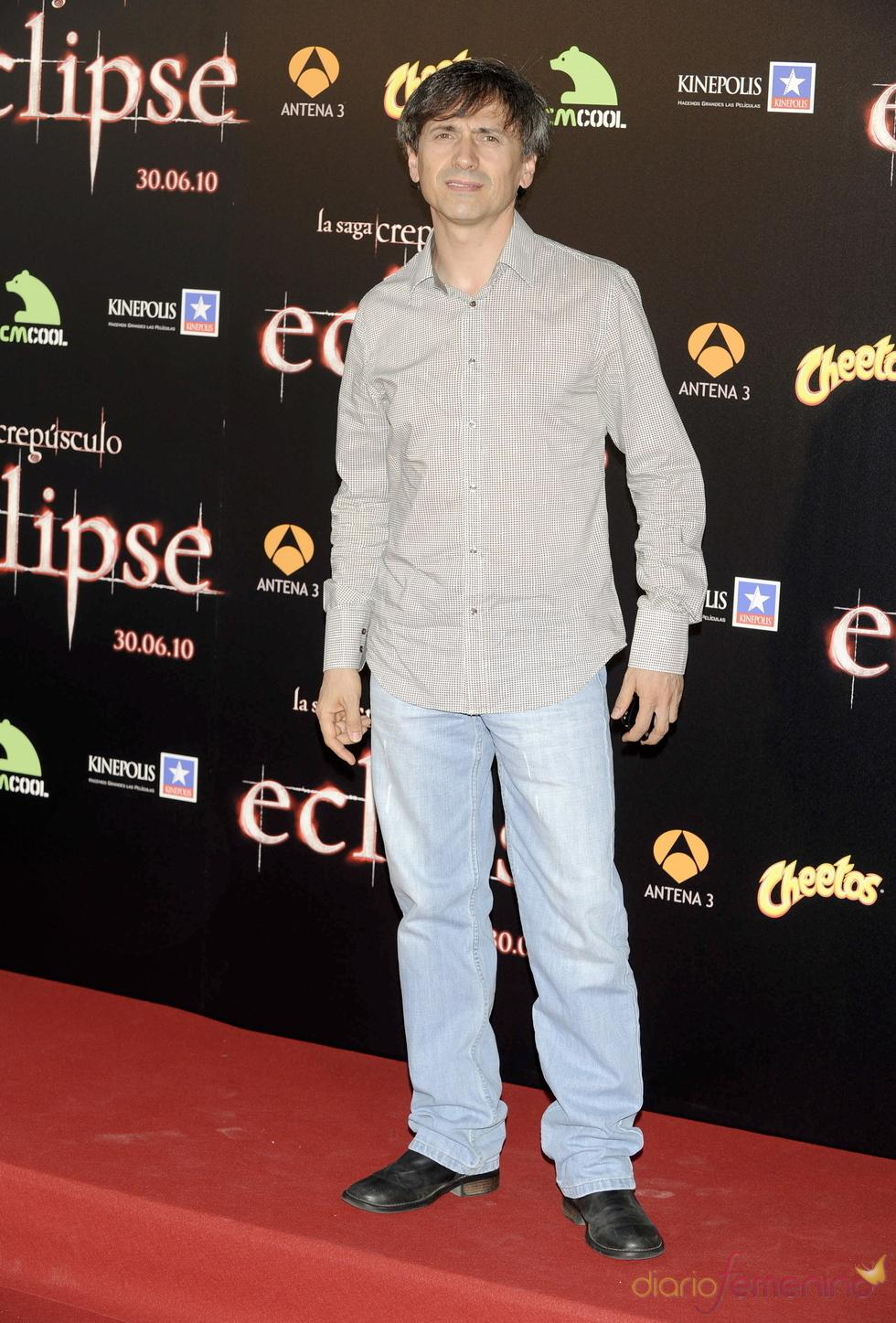 José Mota en la premiere de 'Eclipse' en Madrid