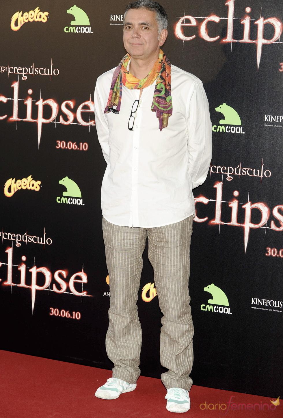 Juan Ramón Lucas en la premiere de 'Eclipse' en Madrid