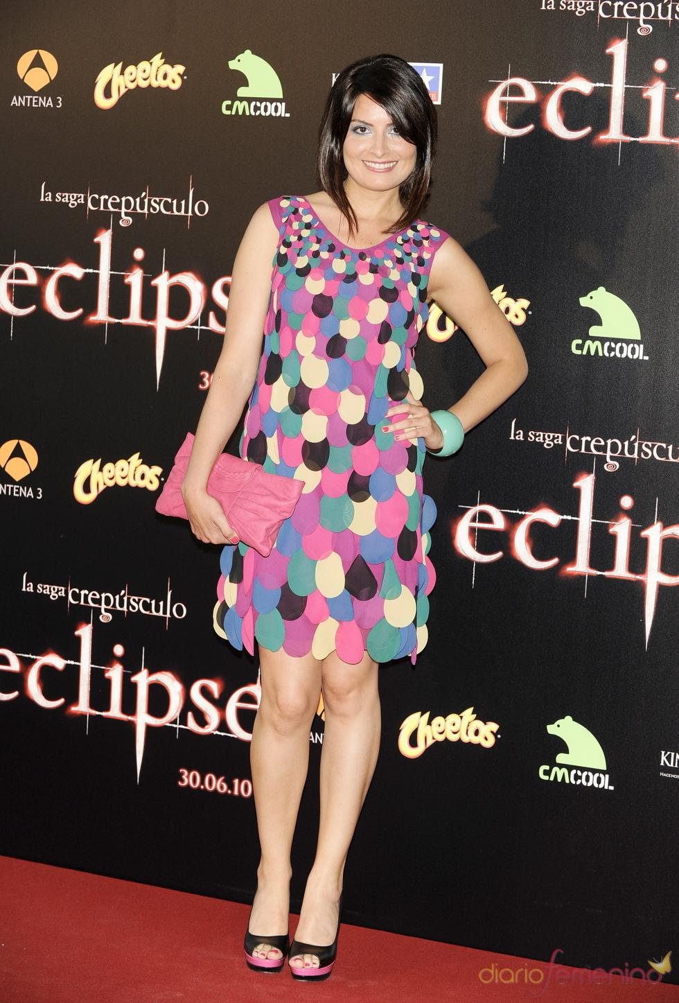 Ledicia Sola en el estreno de 'Eclipse'