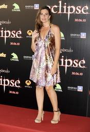 Lola Baldrich en el estreno de 'Eclipse'