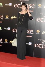 María Barranco en la premiere de 'Eclipse' en Madrid