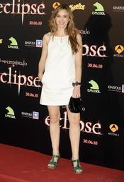 Marta Hazas en la premiere de 'Eclipse' en Madrid