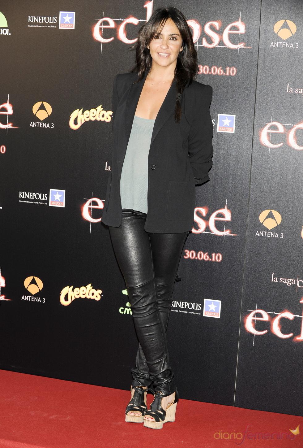 Melani Olivares en la premiere de 'Eclipse' en Madrid
