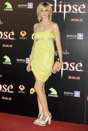 Norma Ruiz en el estreno de 'Eclipse'