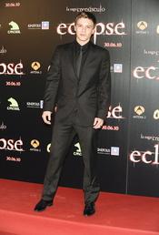 Xavier Samuel en la premiere de 'Eclipse' en Madrid