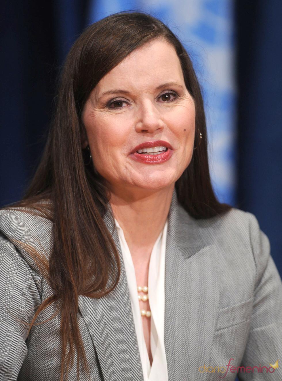 Geena Davis, desmejorada