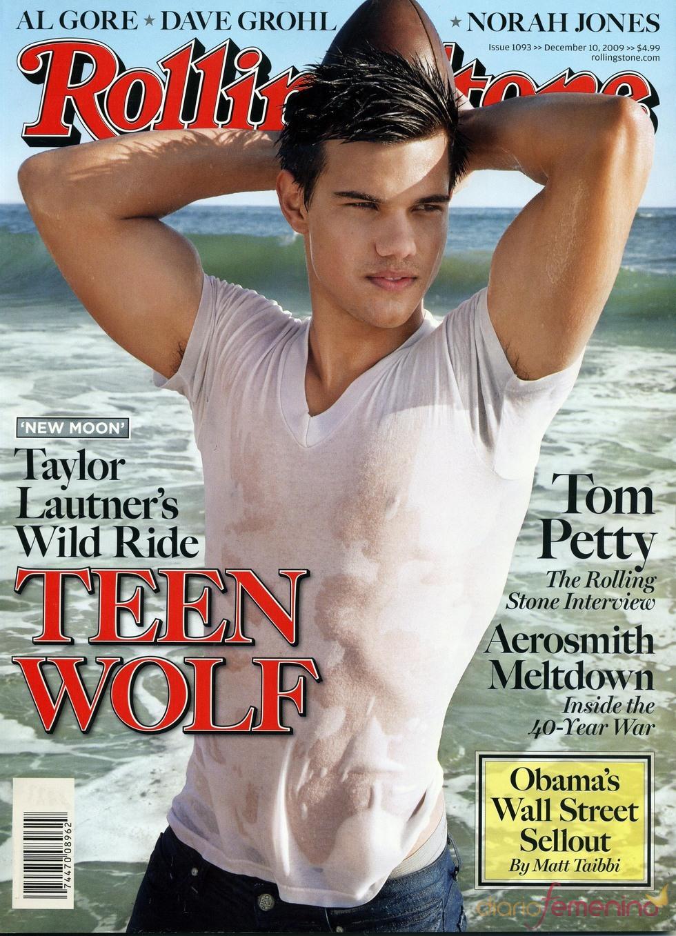 Taylor Lautner, un chico de portada
