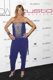 Arantxa de Benito en Mellow Beach Club by Custo