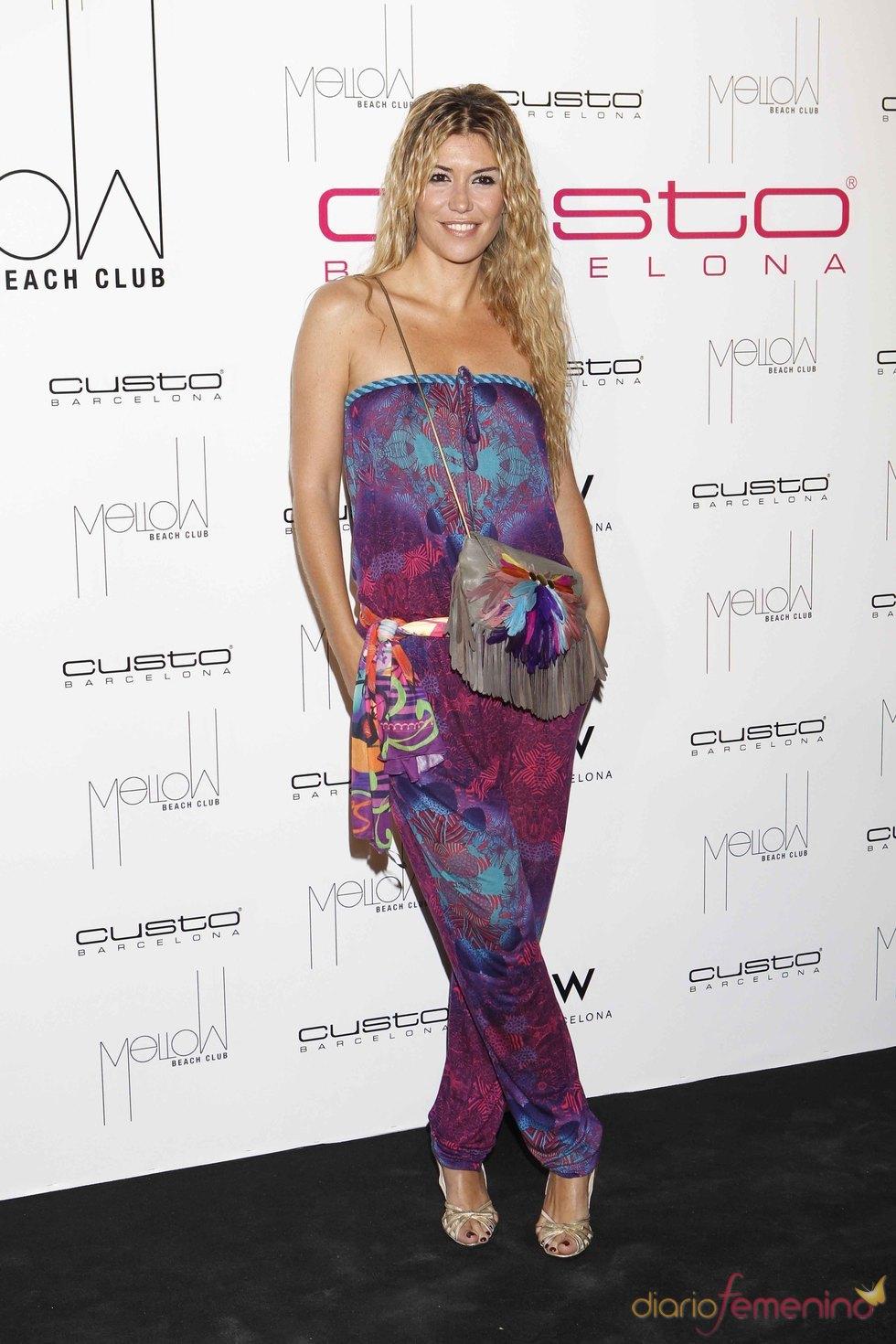 Raquel Meroño en Mellow Beach Club by Custo