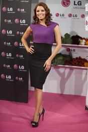 Eva Longoria presenta el nuevo frigorífico de LG