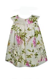 Delantal baby floral