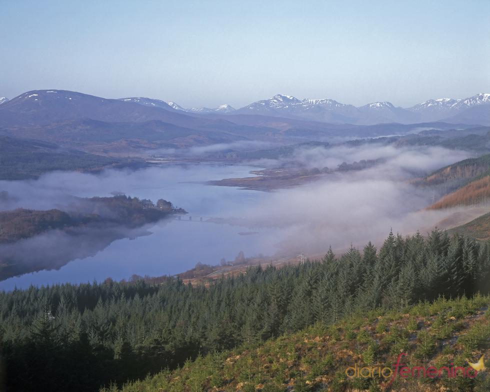Loch Garry, Escocia