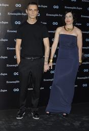David Delfín en los Premios GQ 2010