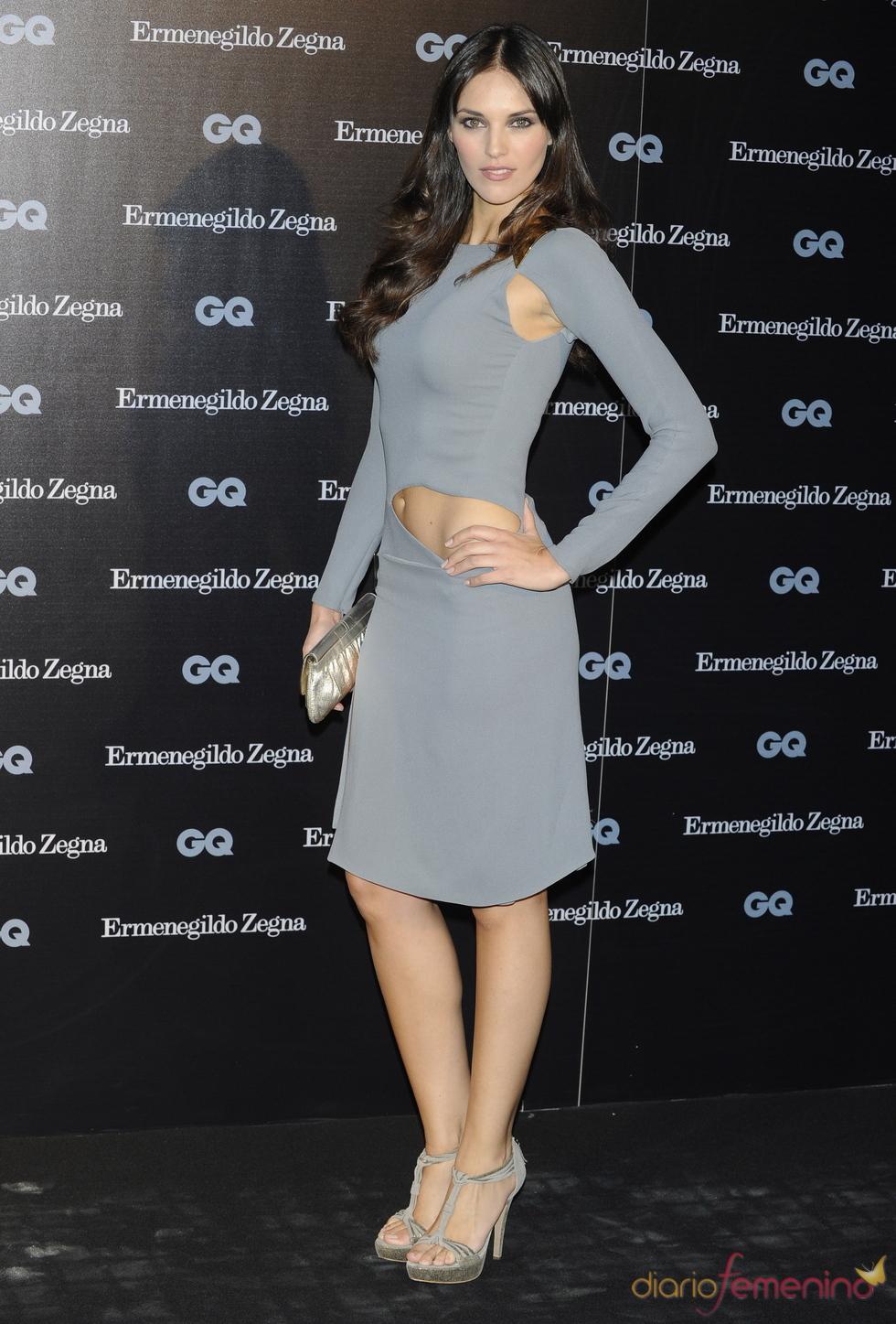 Helen Lindes en los Premios GQ 2010