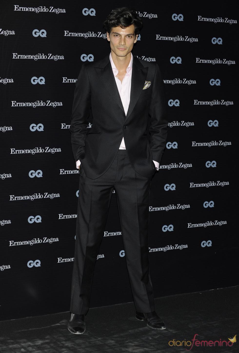 Javier de Miguel en los Premios GQ 2010