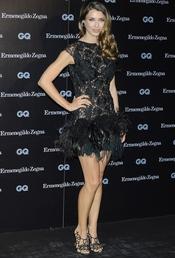 Natasha Yarovenko en los Premios GQ 2010