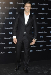 Roger Berruezo en los Premios GQ 2010
