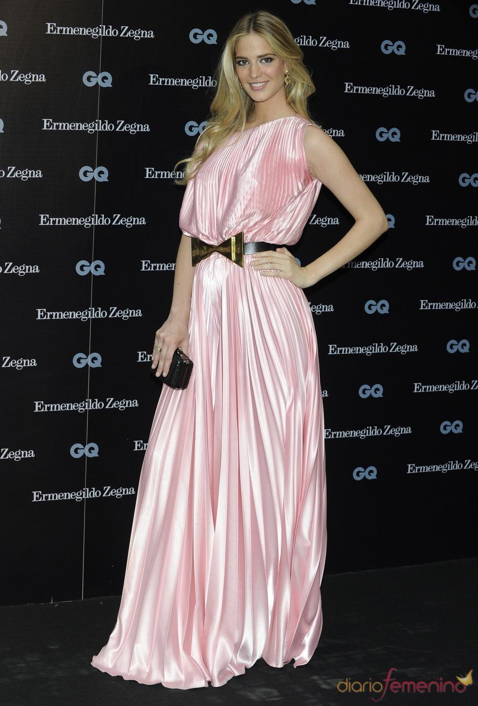 Teresa Vaca Astolfi en los Premios GQ 2010