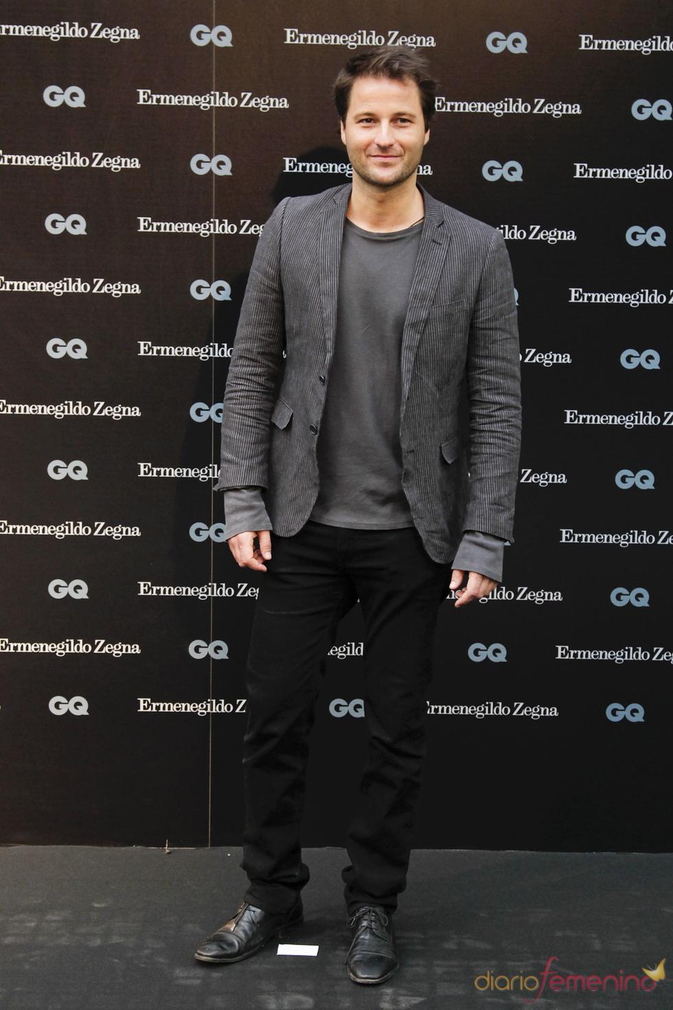 Fernando Andina en los Premios GQ 2010