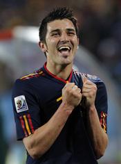 David Villa, el fenómeno del Mundial 2010