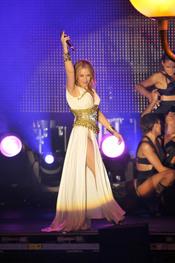 Kylie Minogue saluda en el Orgullo Gay 2010