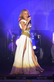 Kylie Minogue en Madrid