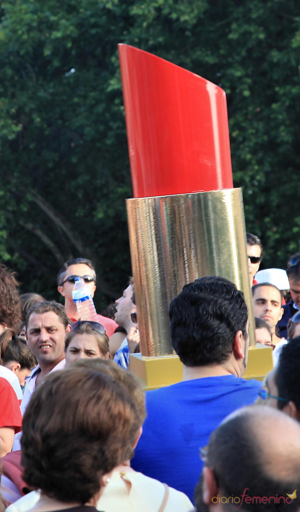 Pintalabios en el Orgullo Gay 2010