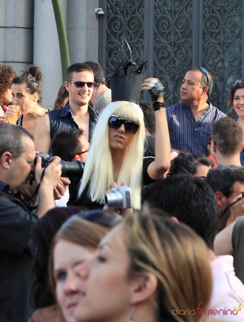 Lady Gaga en el Orgullo Gay 2010