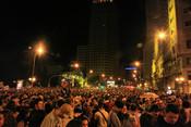 Plaza de España durante el Orgullo Gay 2010