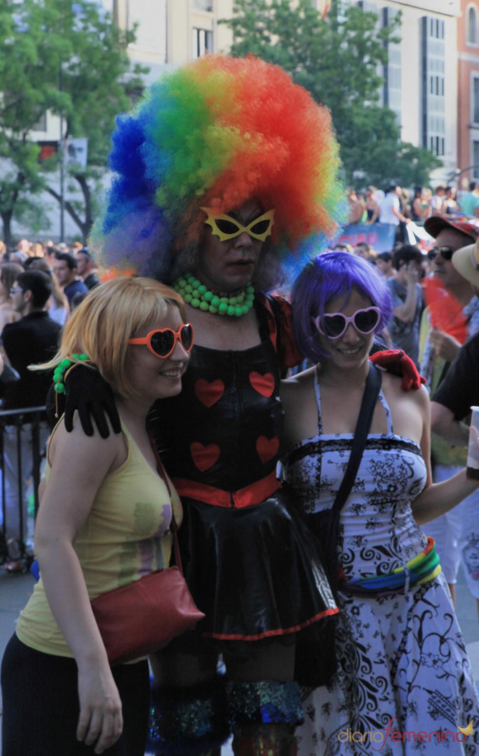 Pelocho gay en el Orgullo 2010