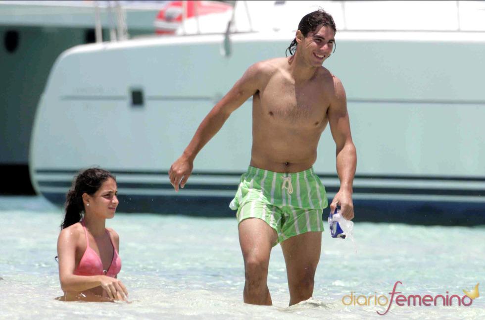Xisca Perelló en bikini con Rafa Nadal